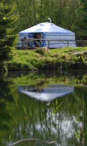 Dartmoor Yurt Holidays - Lake Yurt 2 Dartmoor Yurt Holidays - Sunshine Yurt devon yurt holidays accomodation eco-freindly glamping luxury camping