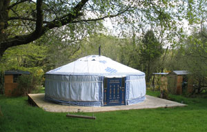 Dartmoor Yurt Holidays - Sunshine Yurt